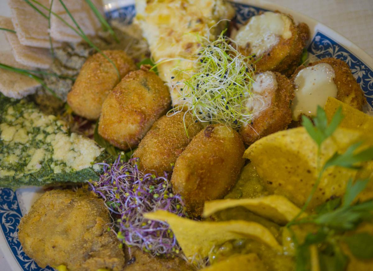 Selection Platter Special Gluten Free Vegetarian Restaurants Madrid Center