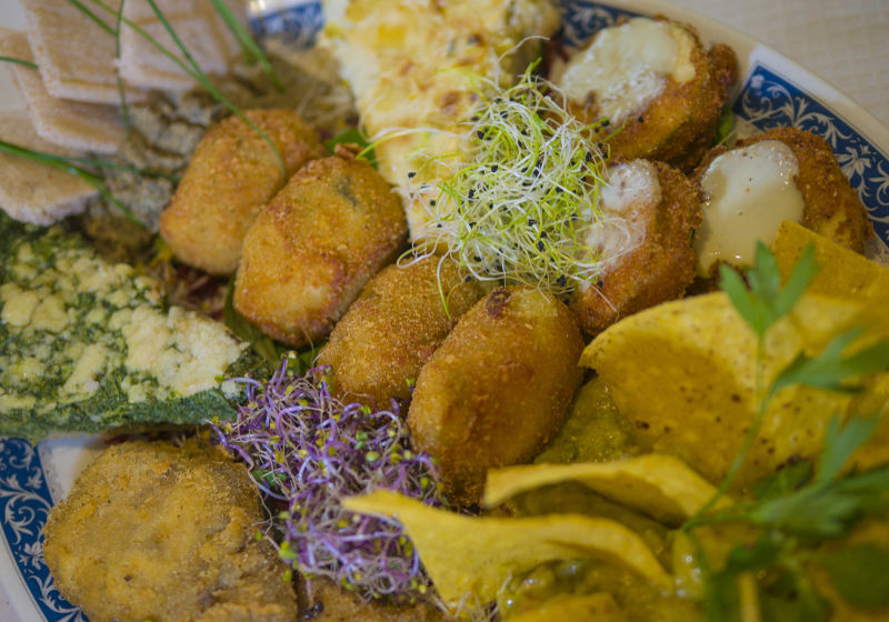 Selection Platter Special Gluten Free Vegetarian Restaurants Madrid